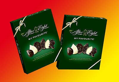 2x After Eight MY FAVOURITE á 150g=300g Pfefferminz Pralinen MHD: 06/2017