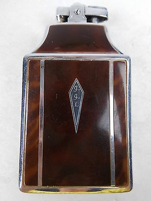 Vintage Ronson Mastercase Lighter Cigarette Case Pouch & Box #792