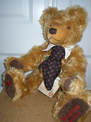 """Hermann """"Mousetrap"""" Mohair Bear No.15 of 50 Limited Edition  Excellent Condition"""