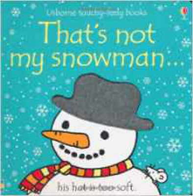 That's Not My Snowman, New, Fiona Watt Book