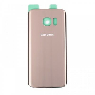 For Samsung Galaxy S7 G930 Rear Glass Back Battery Cover Housing Original Gold