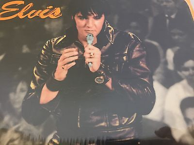 Elvis Presley Mouse Pad Elvis In All Black Leather Ata-Boy Brand New Sealed