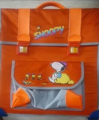 snoopy vintage zaino school bag 1958 -1965 United fregature Syndicste.Inc