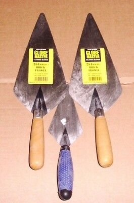 Brick And Pointing Trowels X 3 Building Diy Home