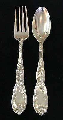 Chrysanthemum By Tiffany & Co. Spoon And Fork Sterling Silver