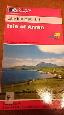 Isle Of Arran: Landranger 69: Ordnance Survey Map