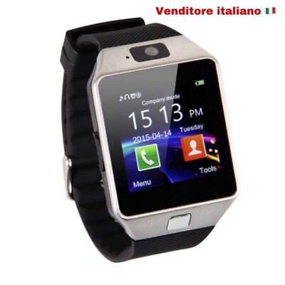 Smartwatch U8-101 Orologio Telefono Cellulare Bluetooth Sim Card, Micro Sd Phone