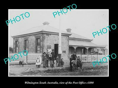 OLD LARGE HISTORIC PHOTO OF WILMINGTON SOUTH AUSTRALIA, THE POST OFFICE c1890