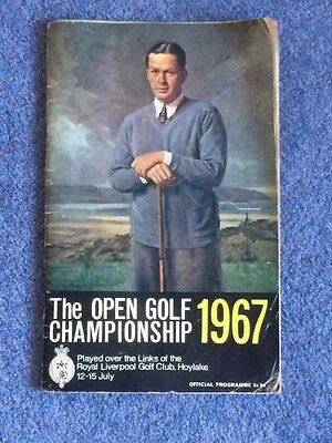 1967 Open Championship Golf Official Pogramme