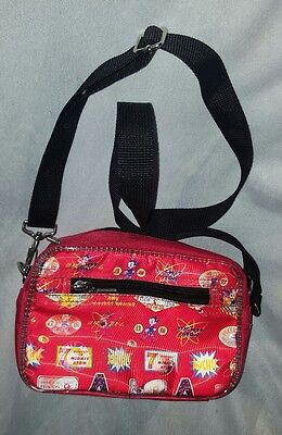 ASTROBOY red BAG shoulder - WITH COOL HOLOGRAPHIC PRINT
