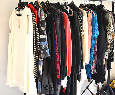 Job Lot Of Catalogue Stock,dresses,tunics,tops,knitwear 50 Pieces In Total New