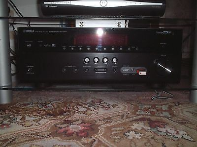 YAMAHA RX-V677 7.2 Channel 90W RECEIVER - Black - Wi-Fi, 4K. - Boxed/Accessories