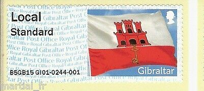 POST & GO Lisa GIBRALTAR MNH atm frama cinderella label Europhilex London 2015