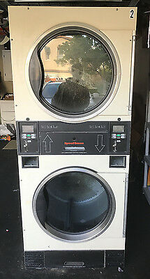 Speed Queen Stack ST0300DRG 30lb Dryer, Coin, 120V, 1 Phase