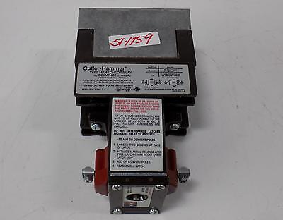 Cutler Hammer 120V Coil Type M Latched Relay Series A3 D26Mr402