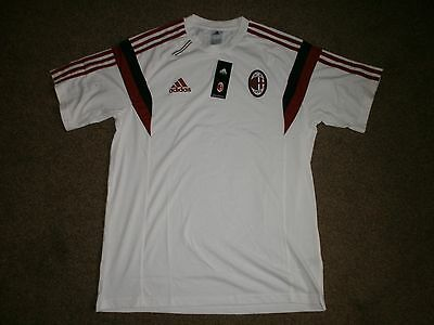 New Adult AC Milan Football Club T Shirt Size S RRP £45