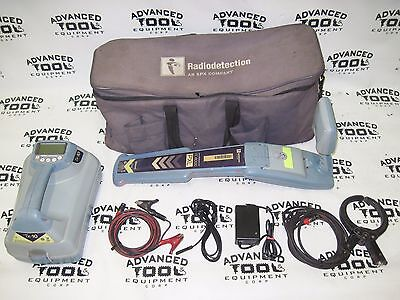 Radiodetection RD8000 SPX PXL Cable Pipe Locator Receiver & RD TX-10 w/ Cables