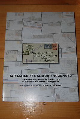 Weeda Literature: Air Mails of Canada 1925-1939, Arfken/Plomish, 230 pp 2000