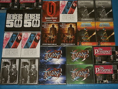 UK Sci-Fi/Fantasy Trading Card Base Sets Unstoppable Cards:Avengers,Blakes 7,Who