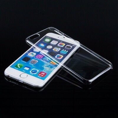 ULTRA THIN CRYSTAL CLEAR HARD BACK CASE COVER FOR IPHONE X 8 7 SE 5 5S 6 6S plus