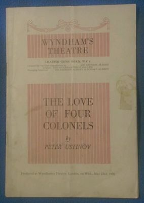 Three (3) Theatre Programmes from the 1950s (160043)