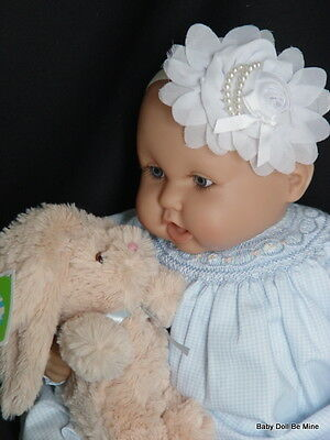 "New 22 "" Berenguer Baby Doll ~with makeover ~ in Petite Ami Romper"