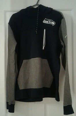NEW Nike Seattle Seahawks NFL American Football Hoodie Jersey Sweatshirt medium