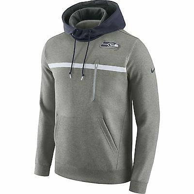 Nike Seattle Seahawks NFL American Football  Hoodie  Pullover Sweatshirt medium