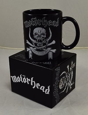 Officially Licensed Boxed Motorhead 'March or Die' Ceramic Mug Music Gift NEW!