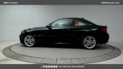2017 BMW 2 Series 230i 230i 2 Series New 2 dr Coupe Gasoline 2.0L 4 Cyl Black Sapphire Metallic