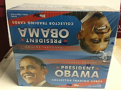 President Obama rare factory seal box of cards