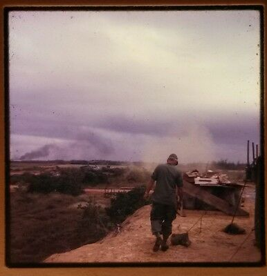 Vietnam Slide - Army GI with 196TH LIGHT INF BRIGADE 23RD INFANTRY DIVISION #4