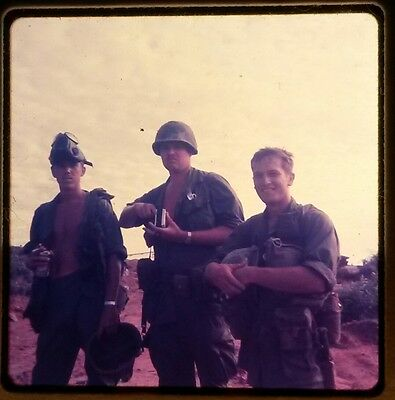 Vietnam Slide - Army GI with 196TH LIGHT INF BRIGADE 23RD INFANTRY DIVISION #5
