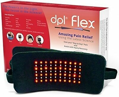 DPL FlexPad Pain Relief System For Back And Knee Pain (880nm Infrared And 660nm