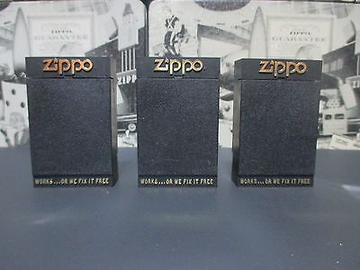 Lot 3Psc Vintage 1980's  Zippo Key Holder In Original In Box