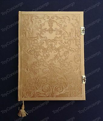 DISNEY Store BEAUTY and the BEAST JOURNAL Live Action Film Notebook NEW