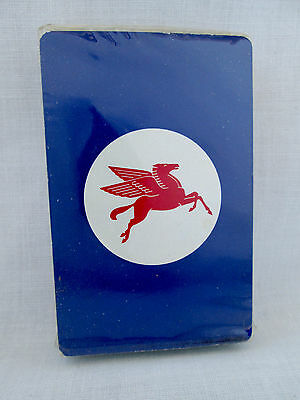 Vintage Mobil Gas Pegasus Playing Cards w/ Cellophane~Sealed~Advertising Deck