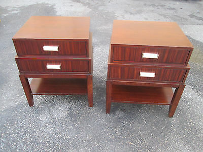 56243   Pair Modern LEXINGTON  Nightstand End table Stand s