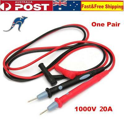 Universal 1000V 20A Multimeter Multi Meter Test Leads Pin Probe Wire Pen Cable