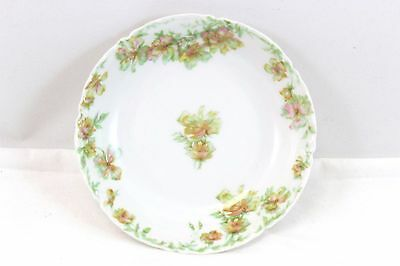 Set 5 Antique Haviland Limoges France China Dessert Side Bowls White Pink Green