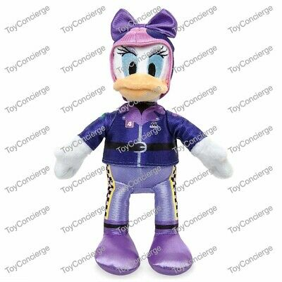 """DAISY DUCK Small 9 1//2/"""" NWT DISNEY Store Plush MICKEY /& the ROADSTER RACERS"""