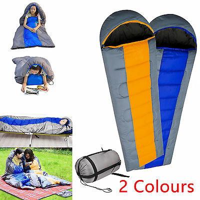Four Seasons Waterproof Sleeping Bag Adult Hiking Camping Equipment Case
