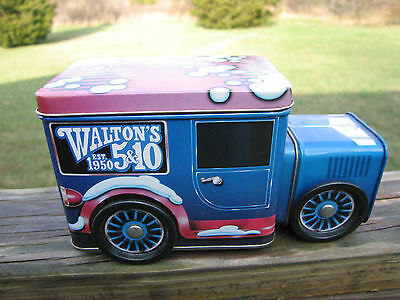 Nice Collectible Walton's 5&10 Toy Truck Tin