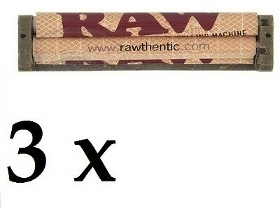 3 pcs RAW Rolling Machine King Size 110mm for King Size papers *Authentic Raw*
