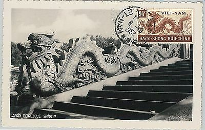 62894 -  Vietnam - Postal History: Maximum Card 1952 -  Dragon!