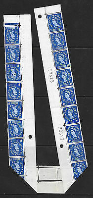 S62 1d Graphite (1st) with variety - Dr Blade Flaw UNMOUNTED MINT/MNH
