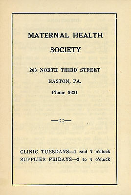1940 Maternal Health Society HOW TO INSERT YOUR DIAPHRAGM Old Timey SEX Advice