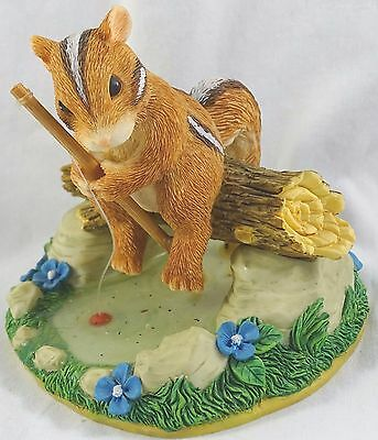 Charming Tails Figurine Gone Fishing