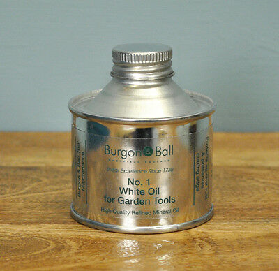 Number 1 White Tool Oil by Burgon & Ball