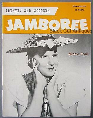 Orig February 1956 Country & Western Jamboree Magazine Vol 2 No 11 Minnie Pearl